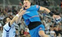 Latvijas labākais handbolists Dainis Krištopāns EHF Čempionu līga Baltkrievijas klubs Brestas