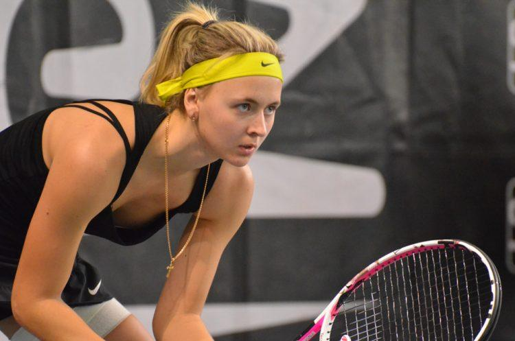 Latvijas tenisiste Diāna Marcinkēviča - Teniss - Sportazinas.com