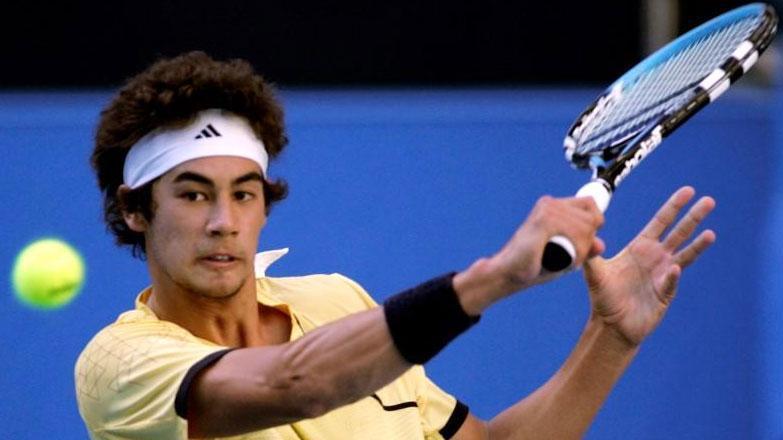 Austrāliešu tenisists Niks Lindāls - Sportazinas.com