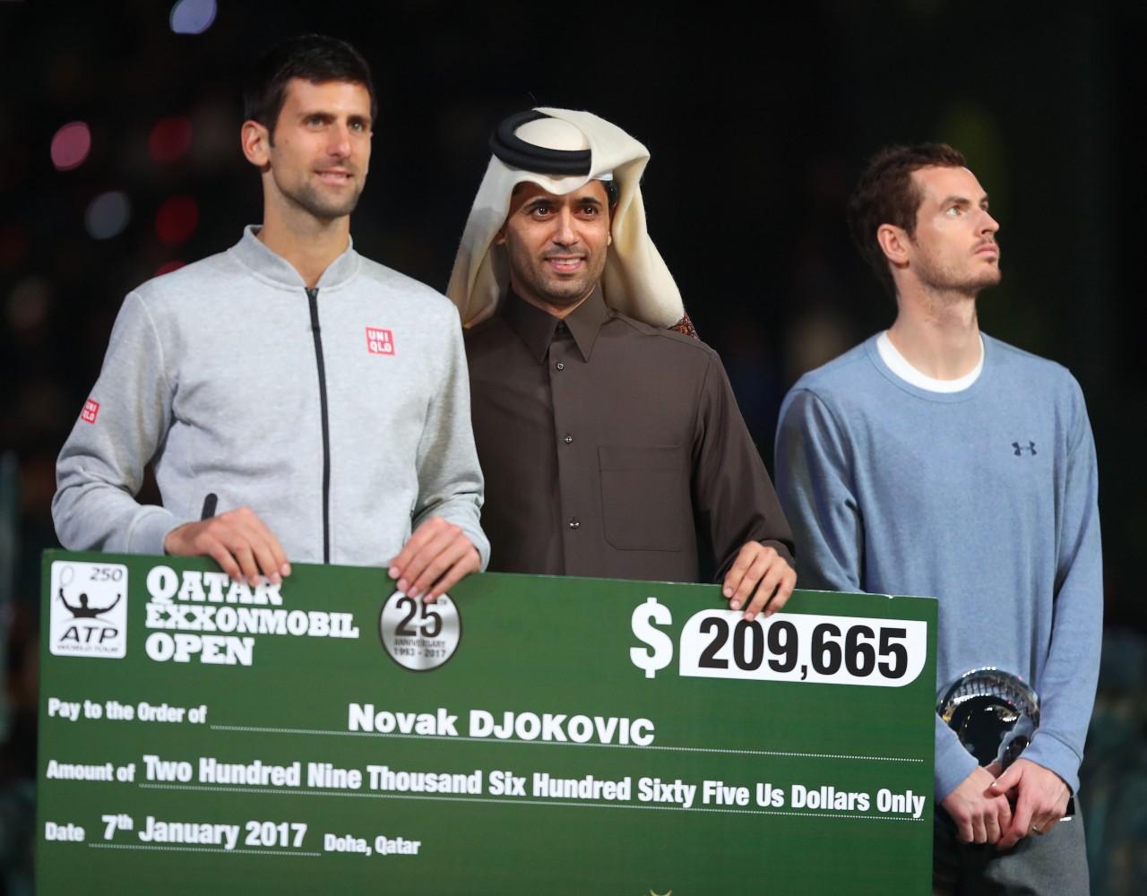 Novāks Džokovičs ATP World Tour 250 - ATP - Teniss - Sportazinas.com