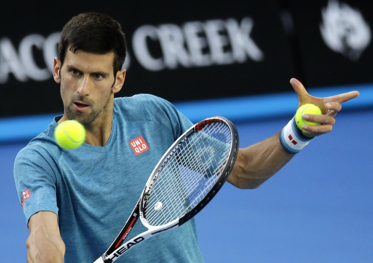 Novāks Džokovičs ATP Austrālijas atklātais čempionāts - Sportazinas.com