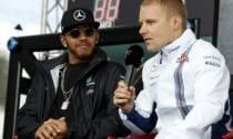 Valteri Botass un Lūiss Hamiltons Formula F-1 - Sportazinas.com