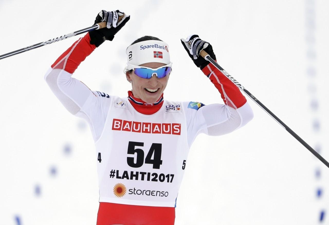 Norvēģijas izcilā slēpotāja Mārita Bjergen