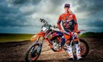 Motokrosa braucējs Pauls Jonass - KTM - Sportazinas.com