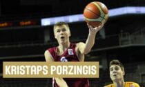 Kristaps Porziņģis - U18 Latvijas basketbola izlase - Sportazinas.com