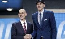 Anžejs Pasečņiks, 2017 NBA Draft