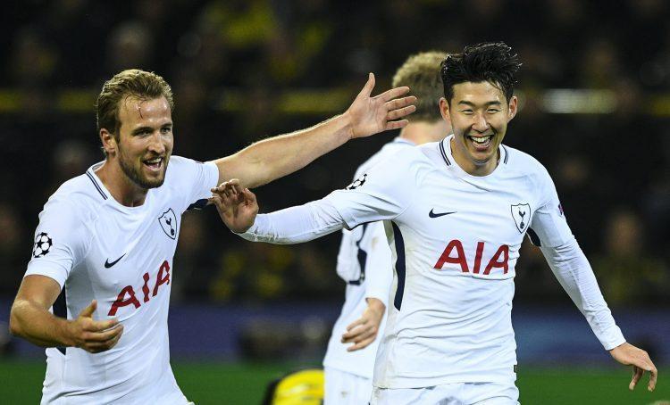 Borussia Dortmund vs Tottenham Hotspur, sportazinas.com