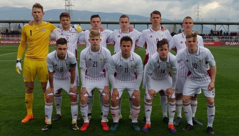 Latvijas U-19 futbola izlase, sportazinas.com