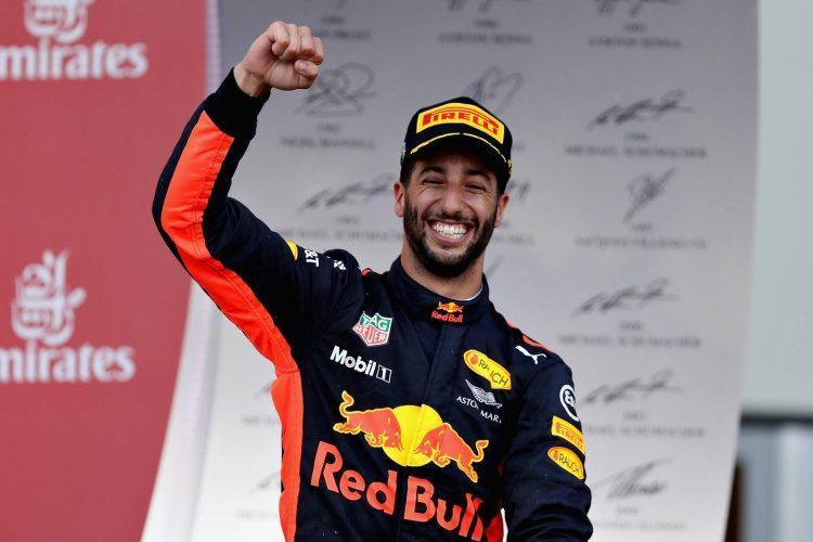 Daniels Rikjardo F1 sportazinas.com