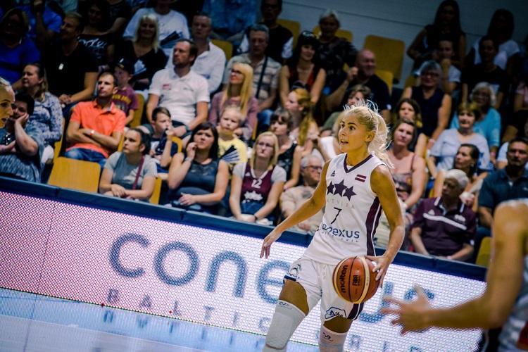 Latvijas sieviešu basketbola izlase, Elīna Babkina, Sportazinas.com