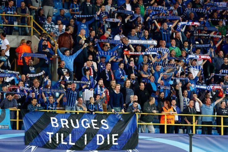 Club Brugge, līdzjutēji, sportazinas.com