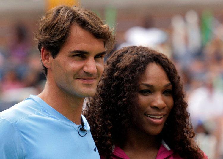 Rodžers Federers, Serēna Viljamsa, sportazinas.com