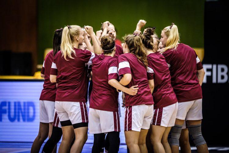 Latvijas U19 basketbolisti, sportazinas.com