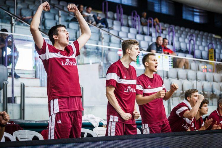 Latvijas U20 basketbola izlase, sportazinas.com