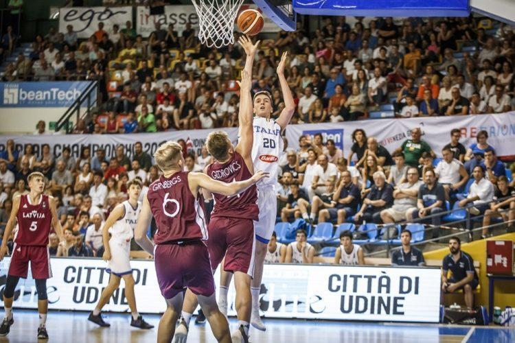 Latvijas U16 basketbolisti, sportazinas.com