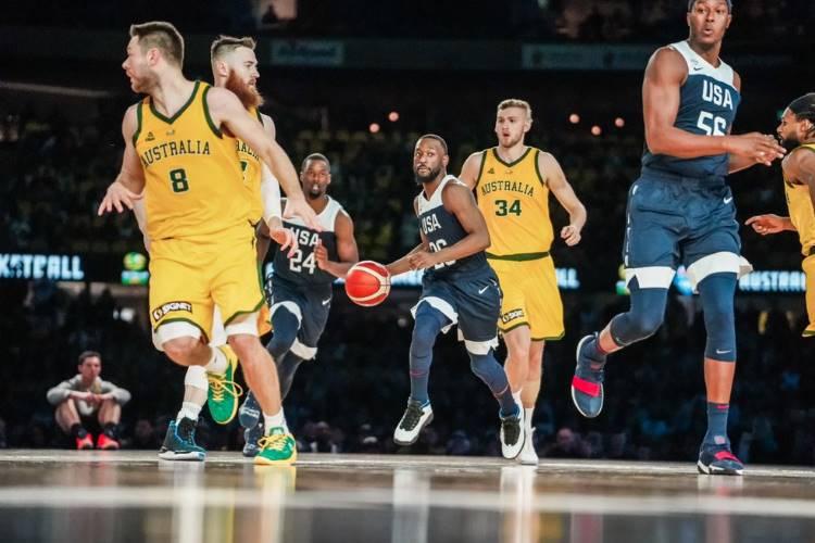 ASV basketbola izlase, Austrālijas basketbola izlase, sportazinas.com