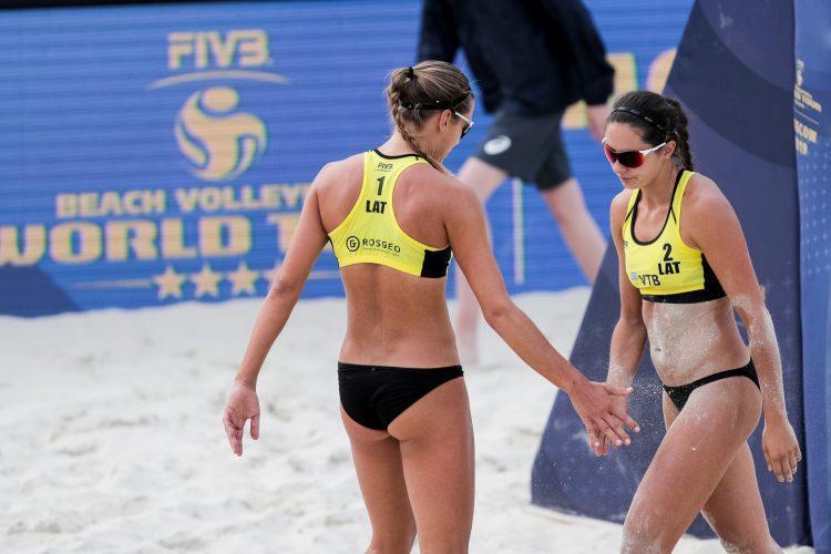 Tīna Graudiņa, Anastasija Kravčenoka, sportazinas.com