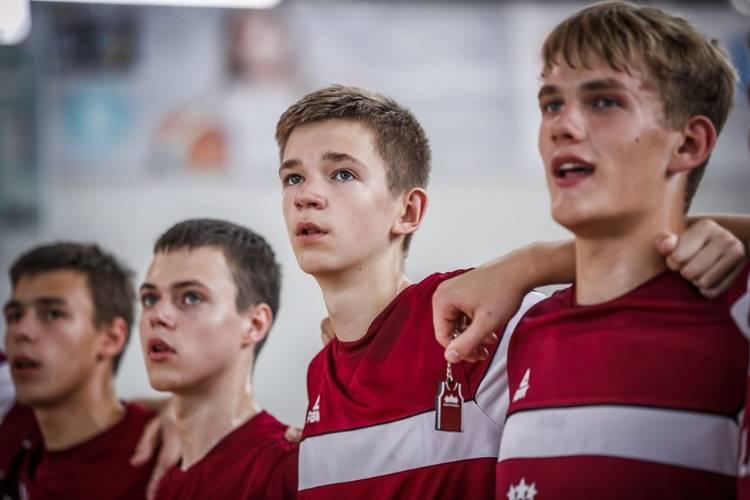 Latvijas U16 basketbola izlase, sportazinas.com