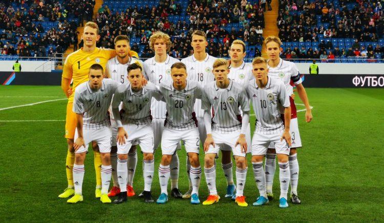 Latvijas U21 futbola izlase, sportazinas.com