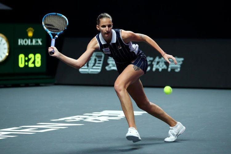 Karolīna Plīškova, sportazinas.com