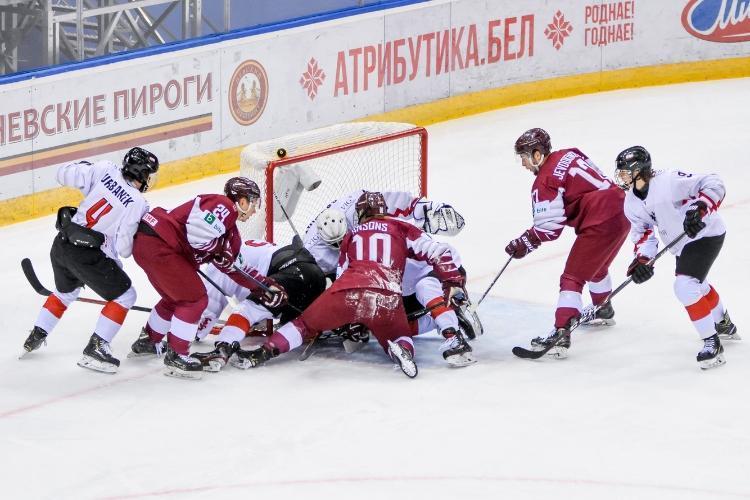 Latvijas U20 hokeja izlase, sportazinas.com