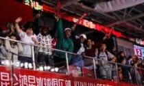 Pekinas Kunlun Red Star līdzjutēji, www.sportazinas.com