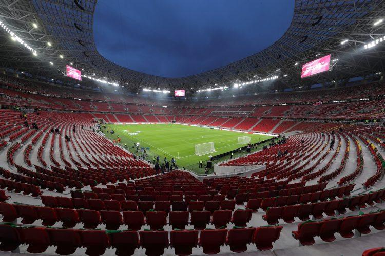 Tukša futbola arēna Budapeštā