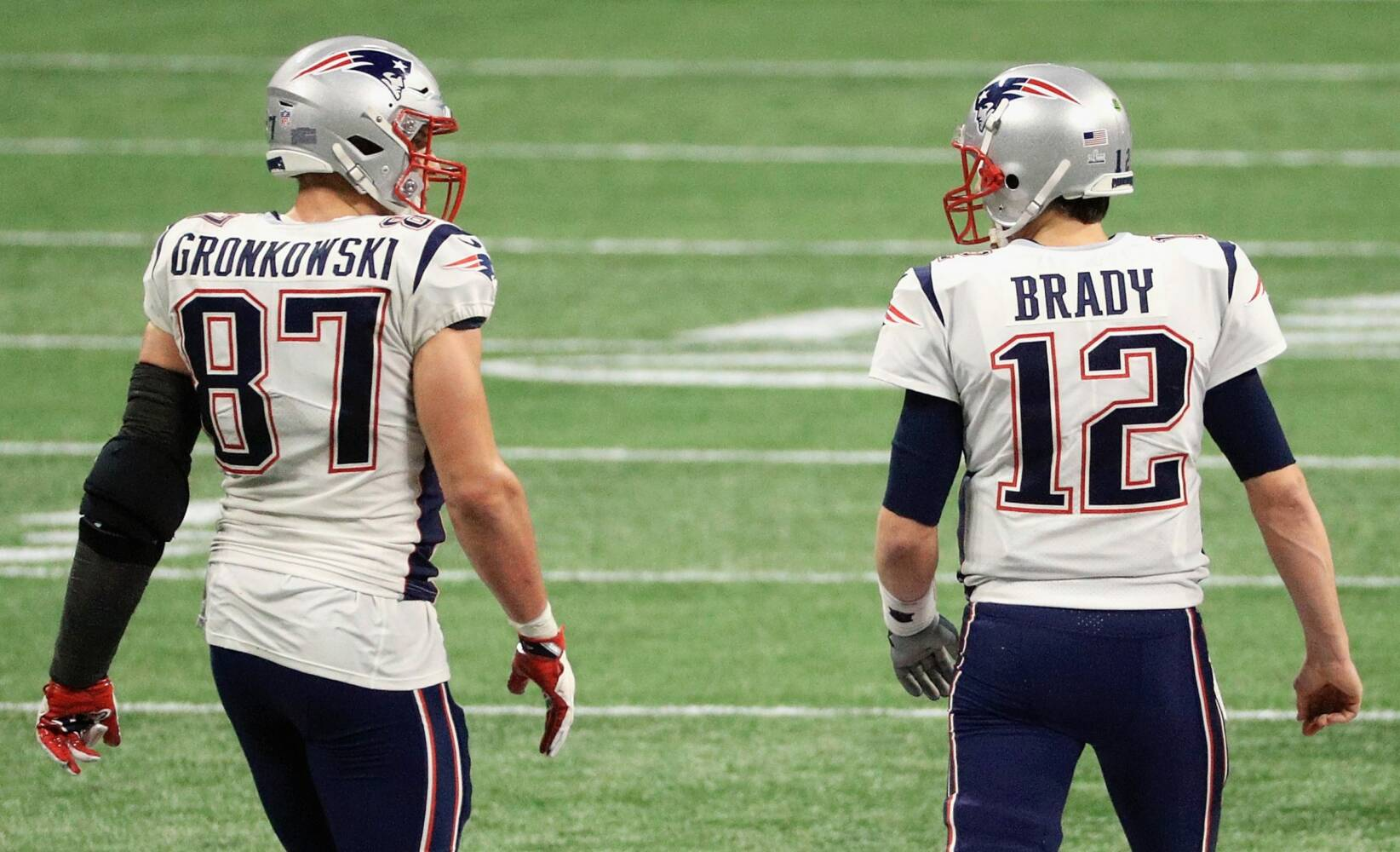 Robs Gronkovskis un Toms Breidijs, sportazinas.com