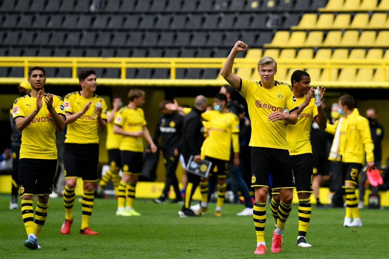 Dortmundes Borussia futbolisti, sportazinas.com