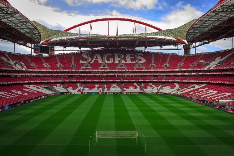 Lisabonas Benfica mājas arēna, sportazinas.com