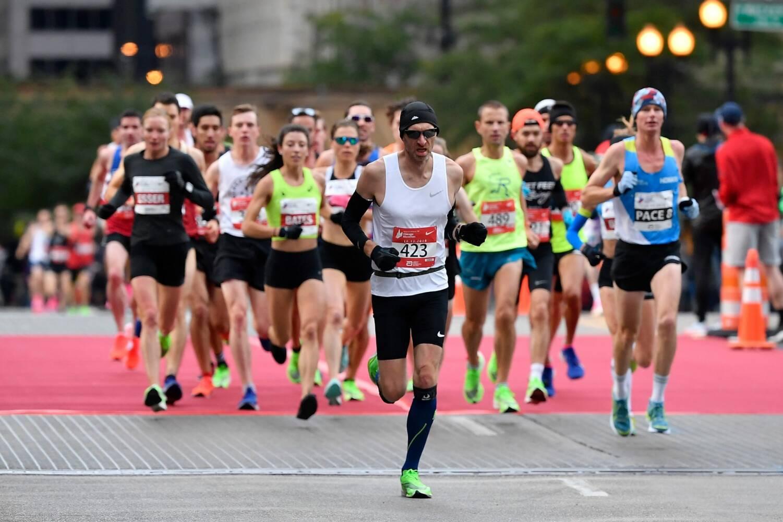 Čikāgas maratons, sportazinas.com