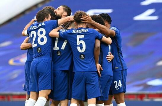 "Londonas ""Chelsea"" futbolisti, sportazinas.com"