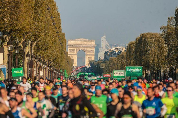 Parīzes maratons, sportazinas.com