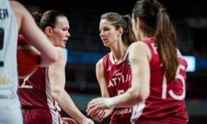 Latvijas sieviešu basketbola izlase