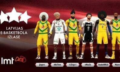 Latvijas e-basketbola izlase