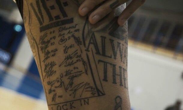 Maikla Kaizera tetovējums