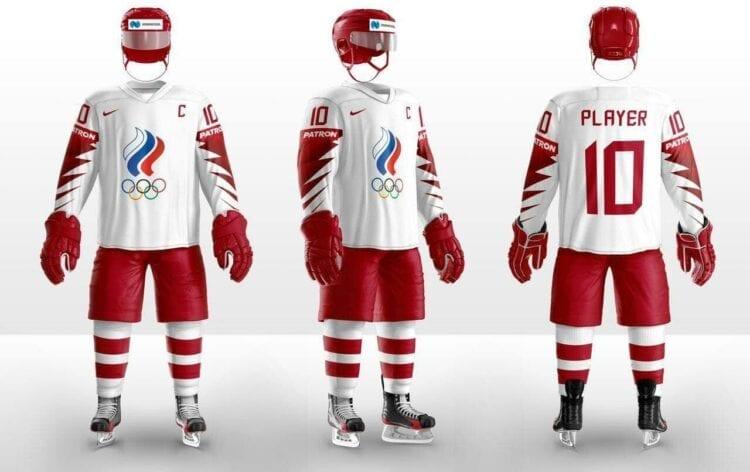 Krievijas izlases formas tērps