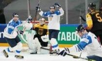 Somijas un Vācijas hokeja izlases