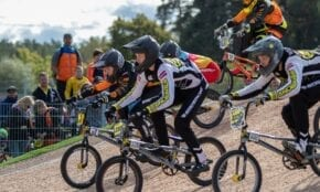 BMX riteņbraucēji