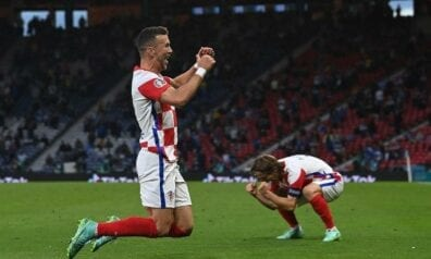 Horvātijas futbola izlase