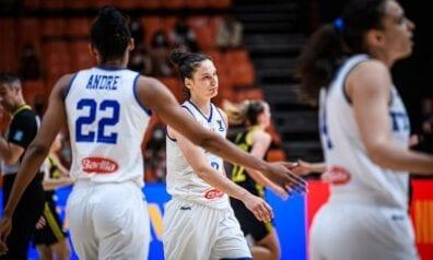 Itālijas sieviešu basketbola izlase