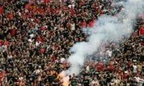 Skatītāju Budapeštas stadionā
