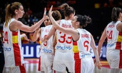 Spānijas sieviešu basketbola izlase