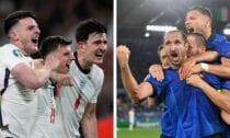 Anglijas un Itālijas futbola izlases