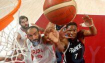 Francijas un Irānas basketbola izlases