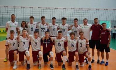 Latvijas U17 volejbola izlase