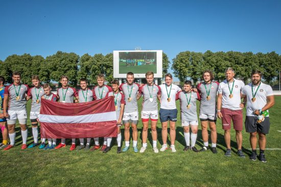 Latvijas U18 regbija-7 izlase