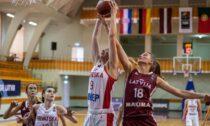 Latvijas U18 basketbolistes