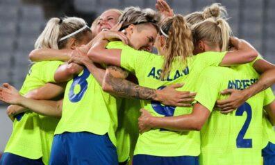 Zviedrijas sieviešu futbola izlase