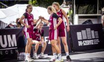 Latvijas 3x3 basketbola U18 sieviešu izlase